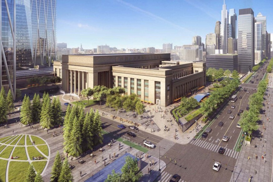 Philadelphia 30th Street Station District Plan