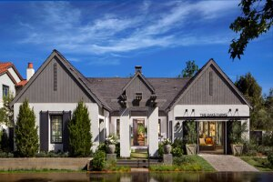 The Oaks Farms Residence 1 design. Half of the Oaks Farms homes will directly border its equestrian center.