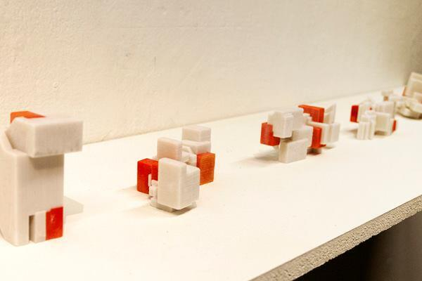 The Digital Intuition & Prediction participants used generic algorithms to conduct a series of building investigations that looked into pinpointing the optimal shape of a performance hall, a structurally efficient form, and building geometries that could maintain prescribed program adjacencies.