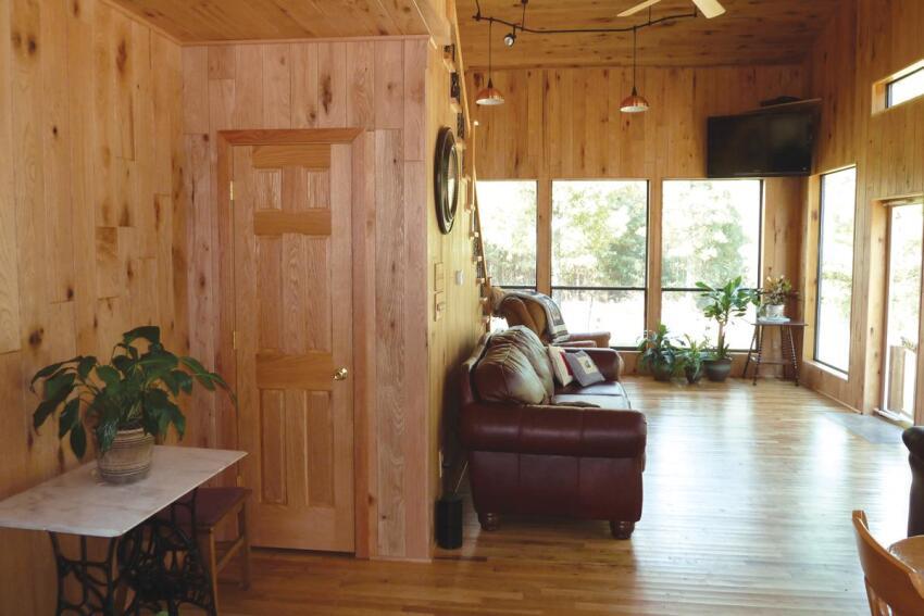 Lodge Look: Ozark Natural Paneling