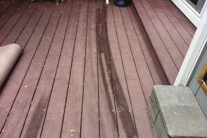 Burned Decking
