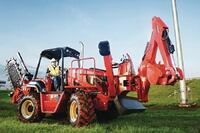 Tier 4-compliant trencher