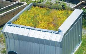 Research conducted by the British Columbia Institute of Technology shows ICFs can improve energy efficiency and control stormwater on green roofs.