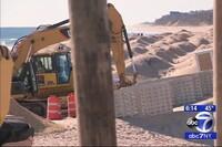 Locals Battle Beach Work in Montauk
