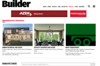 BUILDER Website Now Features Product and Firm Directories