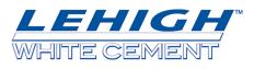 Lehigh White Cement Co. Logo