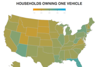 A Heat Map of American Car Ownership