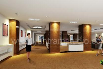 3D Interior Rendering CGI Design