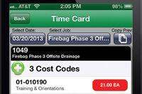 HCSS + HeavyJob Timecard app