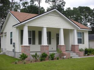 This Habitat for Humanity home in Florida was part of a pilot program that helped lay the groundwork for the group's initiative to build 5,000 affordable green homes.