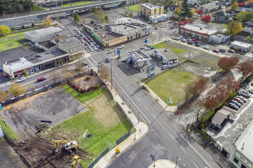 Lents Town Center project in Portland, Ore.