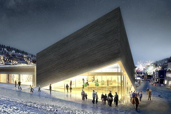 Behind the new bjarke ingels group design for kimball art for Design hotel utah