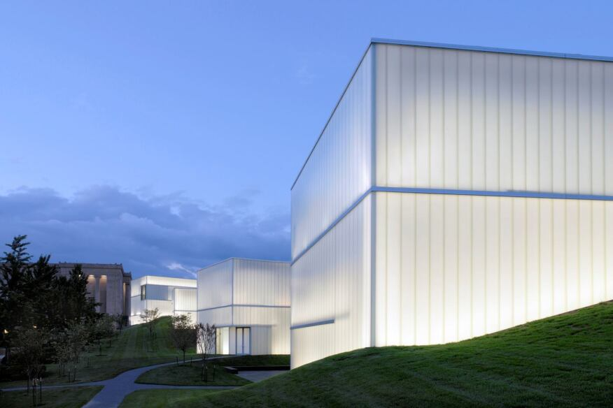 Nelson-Atkins Museum of Art, Bloch Building in Kansas City, Missouri by Steven Holl Architects