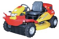 Reconfigurable ride-on mower