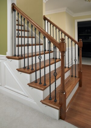 LJ Smith, IronPro Baluster Kits, balusters, stair parts, millwork, iron balusters, wrought iron