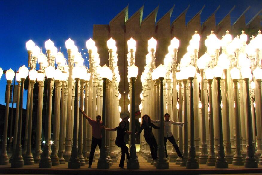 Urban Light, 2008, Los Angeles.