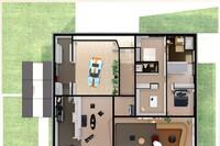 A Virtual Look Into Eames and Saarinen's Entenza House