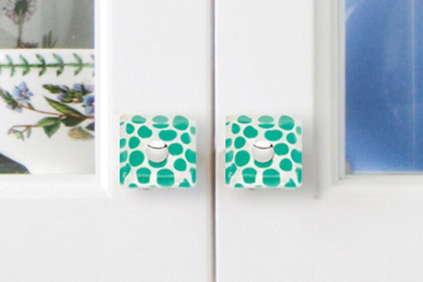 Atlas Homeware's Emerald Knobs
