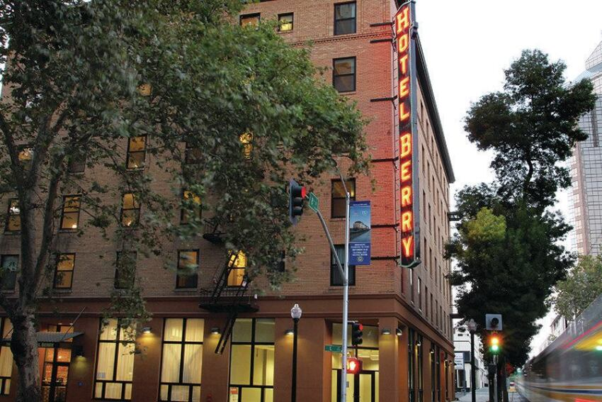 Historic Hotel Berry Returns as Housing