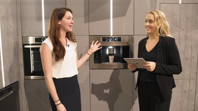 The Bosch Built-In Coffee Maker is a Homeowner's Smart, Personal Barista
