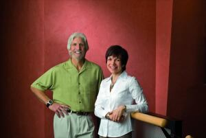Rich Schwolsky and Jean Dimeo, co-chief editors of EcoHome Magazine.