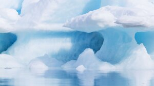 Melting ice caps and ice bergs account for rising sea levels.