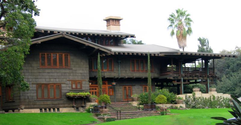 The Gamble House by Greene and Greene