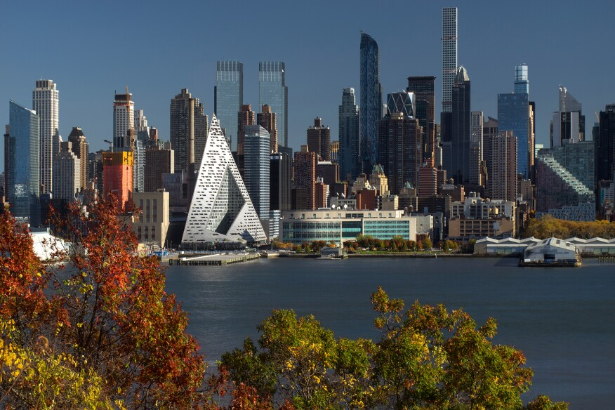 Via 57 West, New York, by Bjarke Ingels Group (BIG)