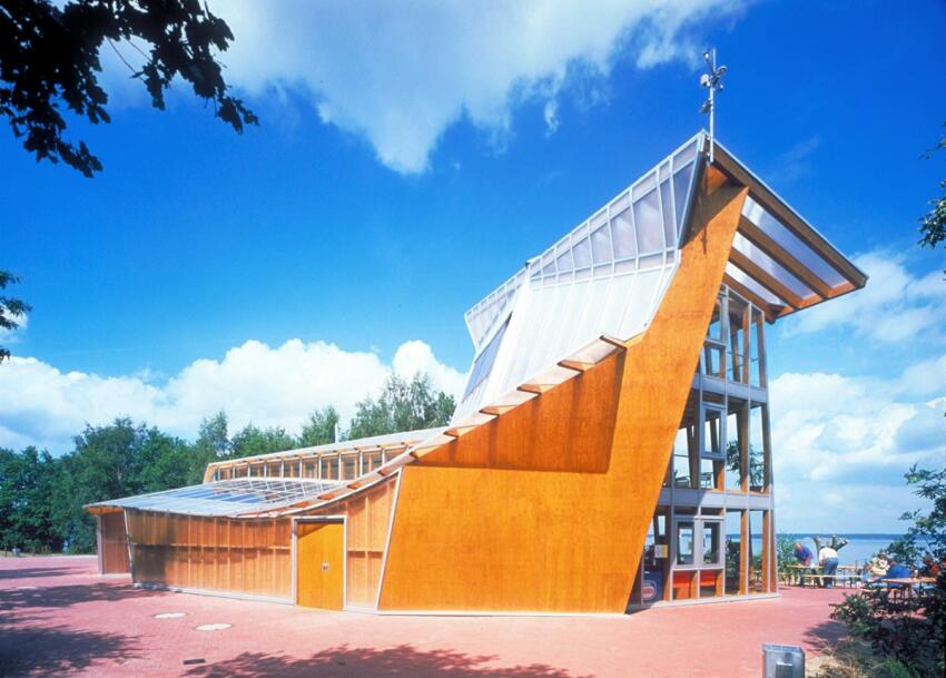 Steinhude Sea Recreation Facility, Steinhude, Germany, completed in 2000.