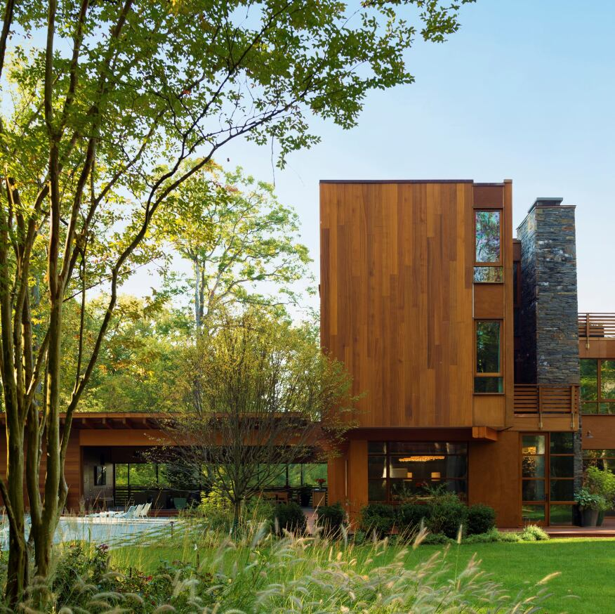 Chalon Road House, Bethesda, Md., by Dynerman Architects