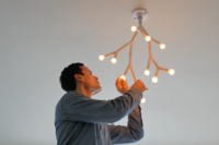 A Nature-Inspired Lighting System Can Expand Like Tree Branches