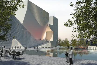 Tianjin Ecocity Ecology and Planning Museums