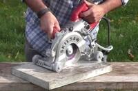 Skilsaw's Concrete-Cutting Worm Drive Saw