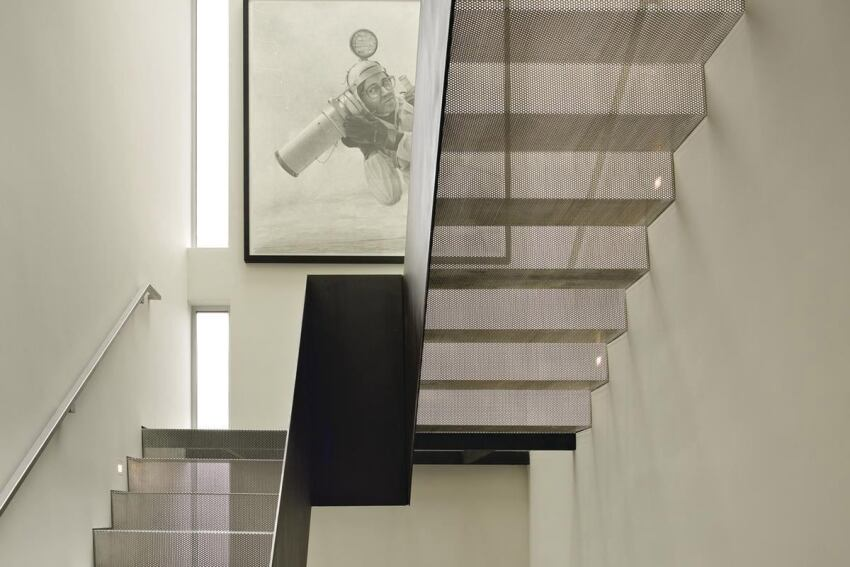 Sculptural Custom Stairwells