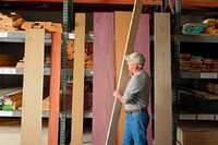Specializing in Exotic Hardwoods Sets this Kansas Yard Apart