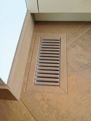 Camouflaged: The manufacturer's most popular vent size, 4 inches by 10 inches, costs about $90.