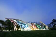 Daniel Buren Reimagines Frank Gehry's Fondation Louis Vuitton