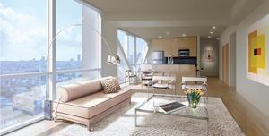 At blu in Beverly Hills, Calif., residents benefit from personalized interior design services.