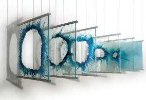 sea craft Yorgos Studio creator George Papadopoulos dove deep to find inspiration for his latest series. Abstract versions of underwater forms both organic and crystalline become architectural glass panels for an array of structural or sculptural applicat