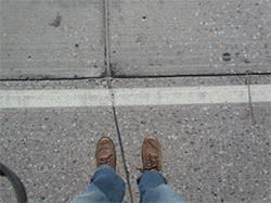 Grooved pavement markings improve cold-weather performance