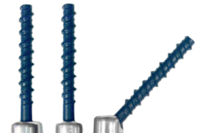 The Industry's Only Swivel, Side and Vertical Anchor Trio for Fast Installations