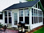 Georgia contractor Joseph Bendek specializes in custom-built sunrooms that resemble  room additions.