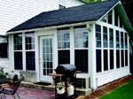 Georgia contractor Joseph Bendek specializes in custom-built sunrooms that resemble  room additions.