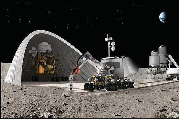 Khoshnevis and the University of Southern California are working with NASA to develop Contour Crafting technology to build lunar and Martian structures before human beings land.