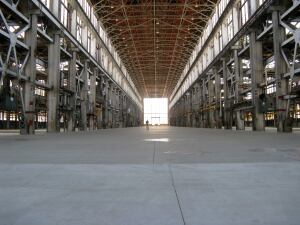 WESTERN EXPANSION. A former submarine plant on Mare Island in Vallejo, Calif., will soon serve as Blu Homes second manufacturing facility,. The 250,000-square-foot facility will produce about 500 homes per year.