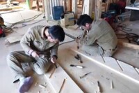 Japanese Stair Builders in Action