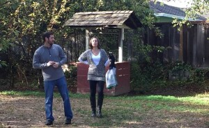 Couple house-hunting in Silicon Valley.