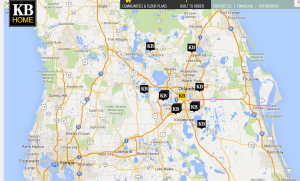 KB Home Orlando area communities.