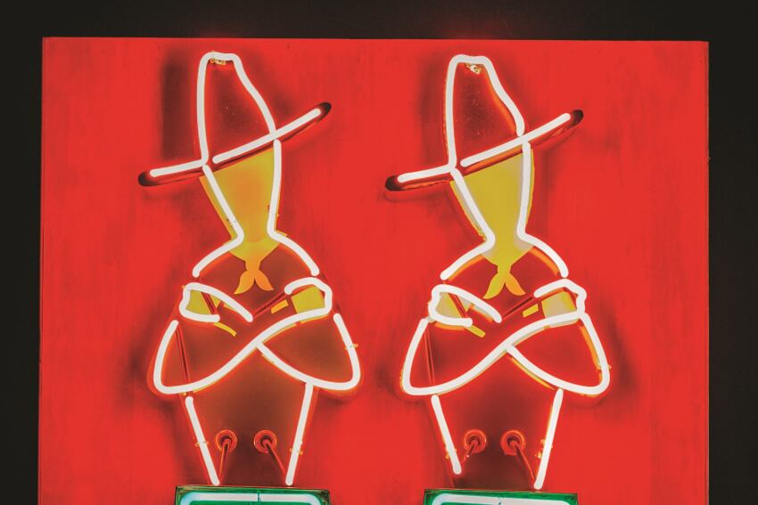 Vintage Collection of Neon Signs Unveiled at the Nevada Museum of Art