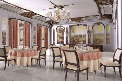 Design interior restaurante clasice - Amenajari interioare